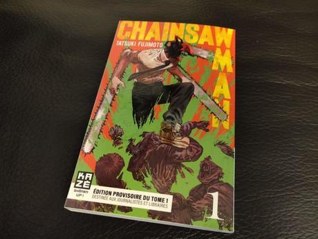 Chainsaw Man, le manga shonen débarque en France chez Kaze