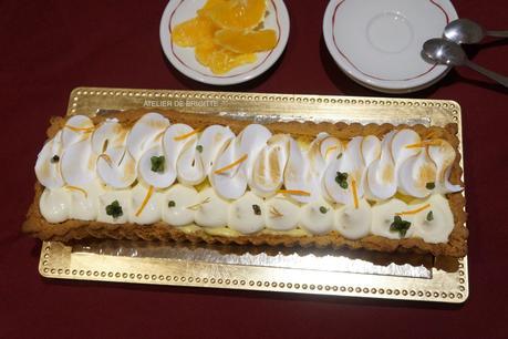 Tarte Oranges Meringuée
