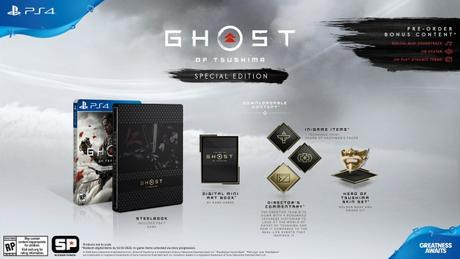 Ghost of Tsushima – Les éditions spéciales et collector
