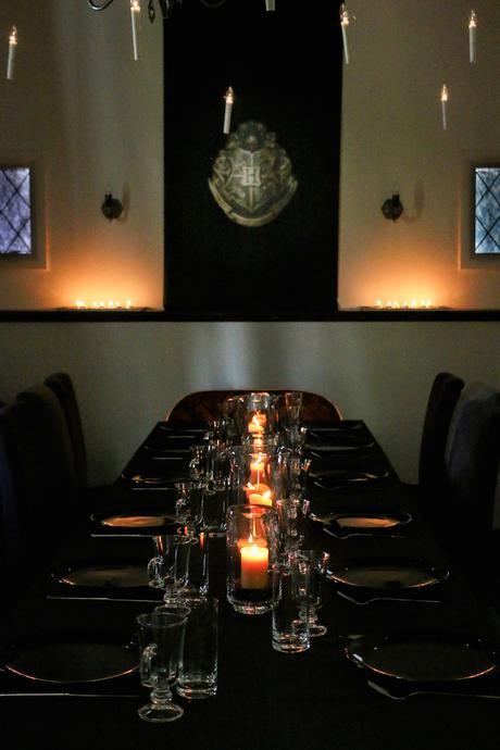 dîner table cuisine sale à manger ambiance harry potter halloween