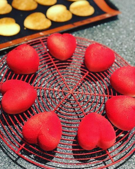 Coeurs fraises, fromage blanc et citron vert