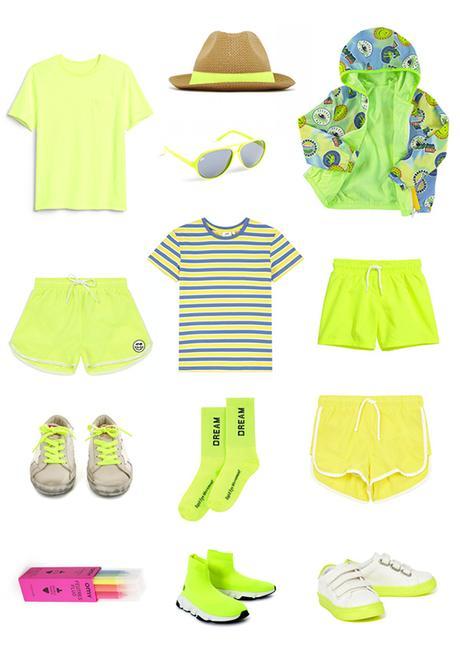 La mode fluo pour enfant