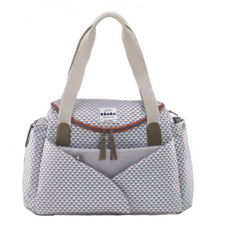 sac à langer élégant pratique rangement matelas amovible adaptable poussette