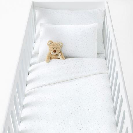 linge de lit housse de couette bébé en gaze de coton confort bio préparer l'arrivée de bébé