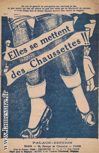 Jupe plissée et chaussettes: Quand la guerre rationne le fil et en donne à retordre!