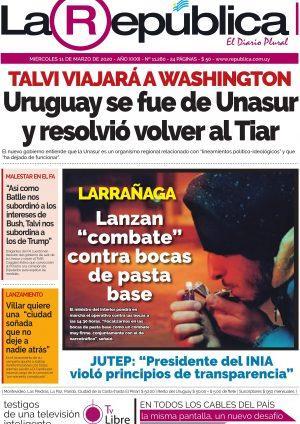 L'Uruguay quitte l'UNASUR [Actu]