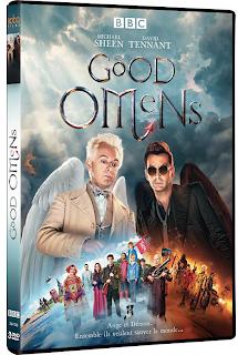 GOOD OMENS EN DVD : LA SERIE ANGE ET DEMON DE NEIL GAIMAN