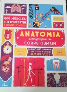 À bras le corps (livres sur le corps humains)