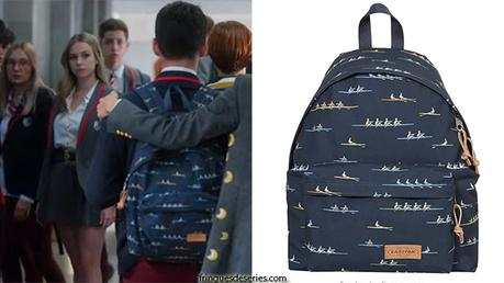 ELITE : Polo's rower print backpack in S3E01