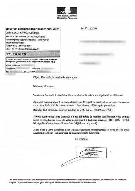 PDF] Demande De Remise Gracieuse Taxe Habitation