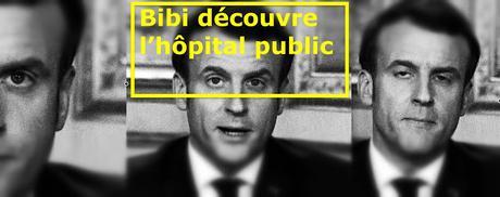 Le jour où Macron découvrit l'hopital  - Covid19
