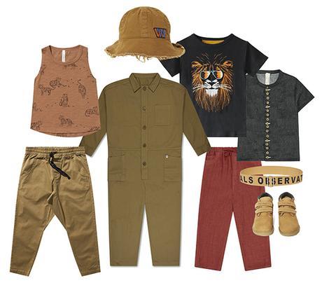 Mode Enfant - tendance Safari