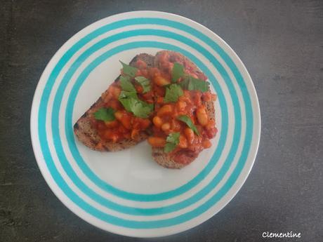 Baked beans de Tom Kerridge - Haricots blancs en sauce tomate à l'anglaise