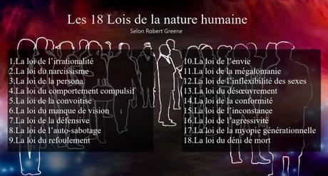 Les 18 lois de la nature humaine selon Robert Greene