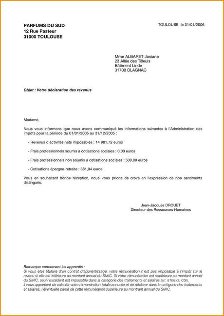 Modele Lettre Administrative Paperblog