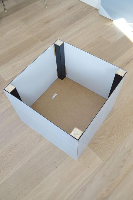 lack ikea hack table basse plexiglas idée originale - blog déco - clem around the corner