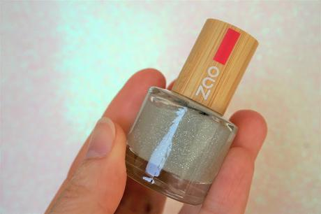 top coat pailleté Zao Cosmetics