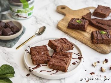 Recette bio : Brownie au chocolat et à la patate douce (sans beurre ni oeuf)