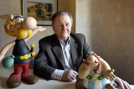 Albert Uderzo, le génial dessinateur des aventures d'Astérix nous a quitté
