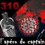 L'apéro du Captain #310 : Le tatouage arrière du Covid-19