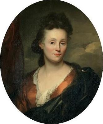 Schalcken 1706 Francoise Van Diemen coll priv