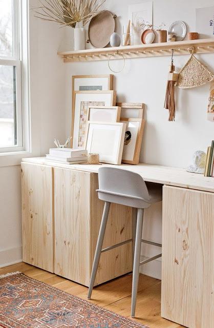 bureau-avec-armoires-ikea