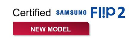 Les supports OMB Gyro sont certifiés Samsung Flip 2