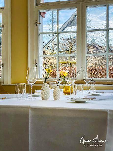 Souvenir de notre repas chez Tanja Grandits à Bâle !