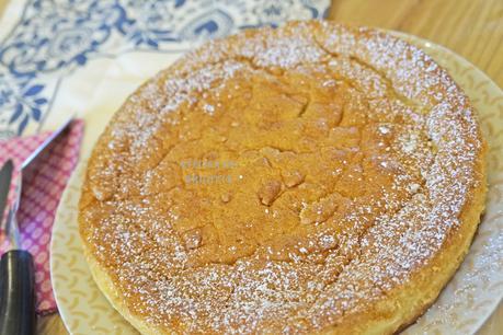 Gâteau Magique aux pommes caramélisées (#restezàlamaison)