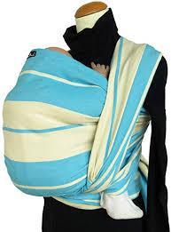 Echarpe de portage pour bébé et maman