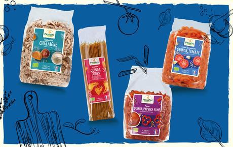 Donnez du goût au quotidien avec les pâtes saveurs Priméal !