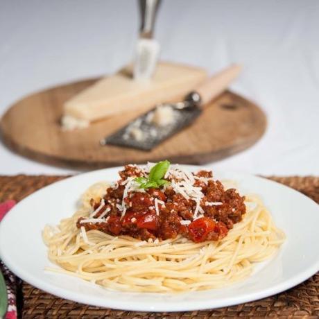 Spagetti sauce bolognaise
