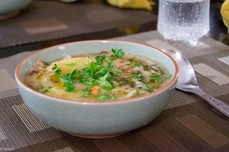 Du pain et des légumes – Pancotto aux pommes de terre