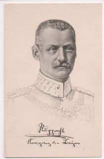 Wittelsbach(er) - Le prince Rupprecht rencontré dans l'Orient-Express en 1913.