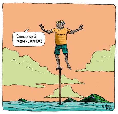 Confinement vs Koh-Lanta