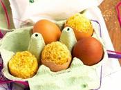 Quatre-quarts sans gluten façon oeufs Pâques