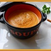 Velouté de carottes au lait concentré - Oh, la gourmande..