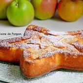 Gâteau aux pommes au lait concentré sucré et combava - La cuisine de Ponpon: rapide et facile!