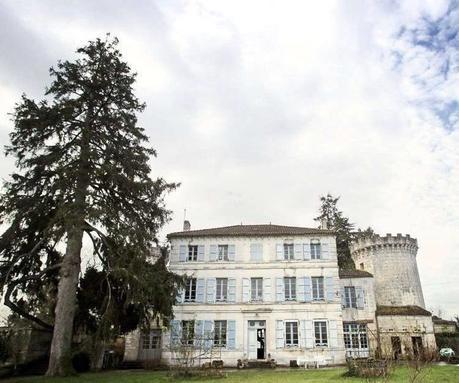 château charentais de Dirac rénovation maison hôte