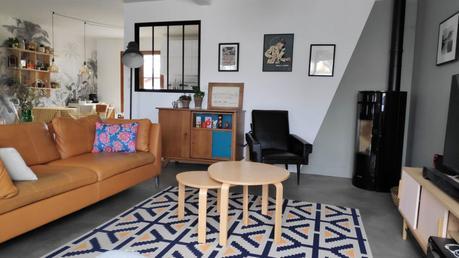 Notre salon au style scandinave réinventé