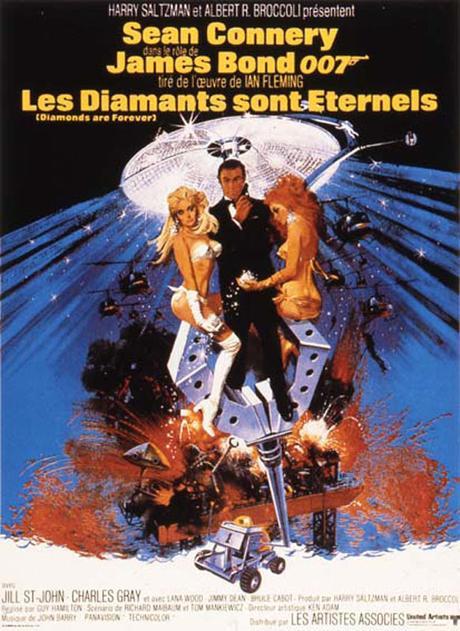 Les Diamants sont Eternels (1971) de Guy Hamilton