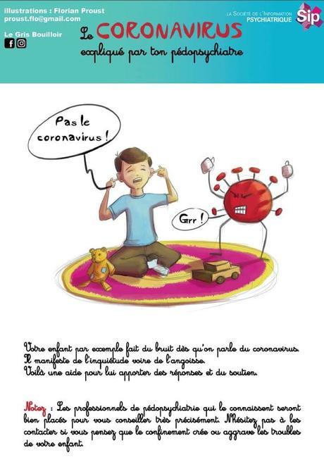 le corona virus expliqué aux enfants