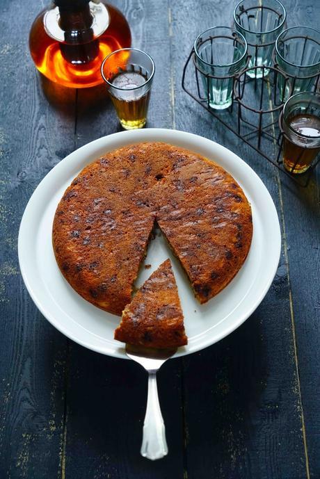 gâteau cuisson à la poele , recette rapide , pépéites de chocolat