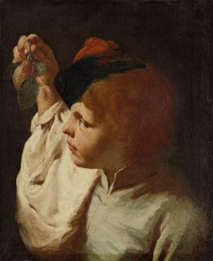 Piazzetta 1740 ca Boy with a pear wadsworth atheneum Hartford
