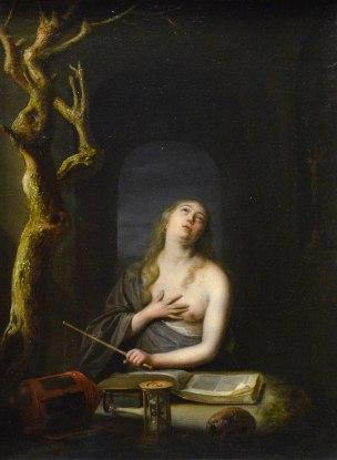 van_Slingelandt 1657 Sainte_Madeleine_penitente_Louvre