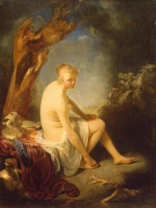 Dou 1660-65 Woman_Bather Ermitage