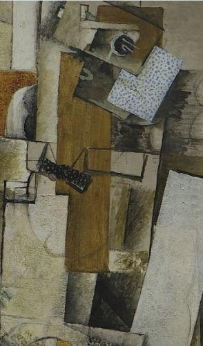 Georges_Braque,_1914 printemps 1914,_Homme_a_la_guitare Centre Pompidou detail