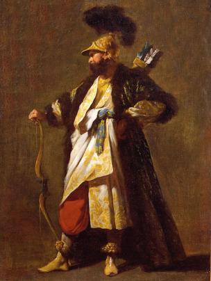 Barbault Jean Un garde du Seigneur 1748 Musee de Narbonne