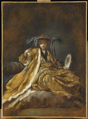 Barbault Jean La sultane grecque 1748 Louvre