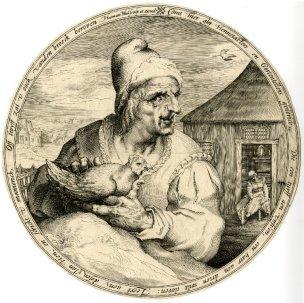 Hennetaster Harmen Jansz. Muller, 1595 ca, British Museum